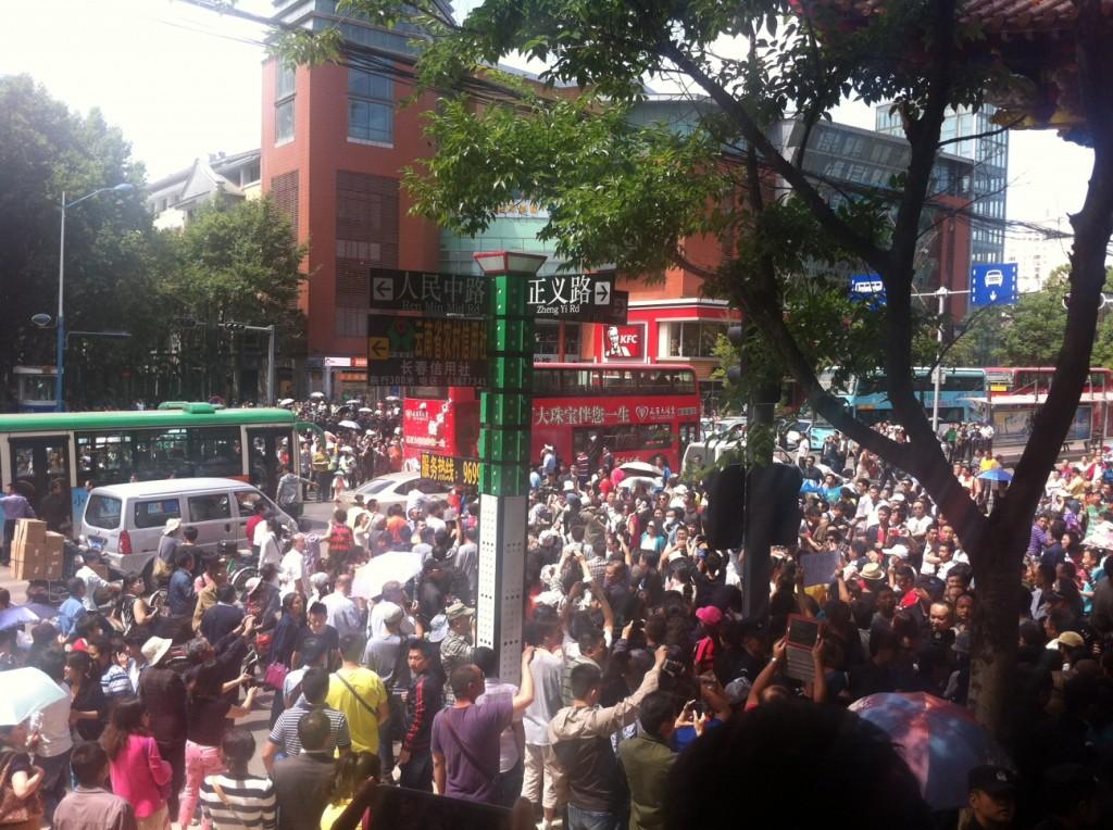 protest zhengyilu