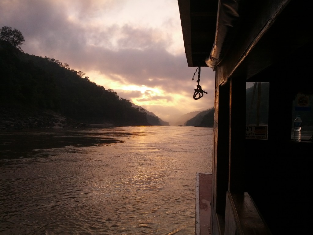 The untouched Mekong in Laos