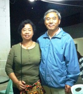 Pastor Yang Congguang and his wife