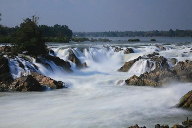 Khone Falls in Siphandone, Laos.  Image: Corbis