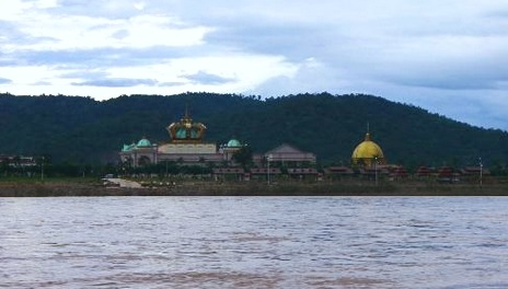 King Roman Casino along the Mekong in Bokeo Province, Laos