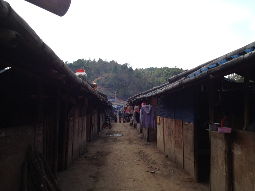 Camp for internally displaced persons at Mai Ja Yang, Kachin State on the the Chinese border.