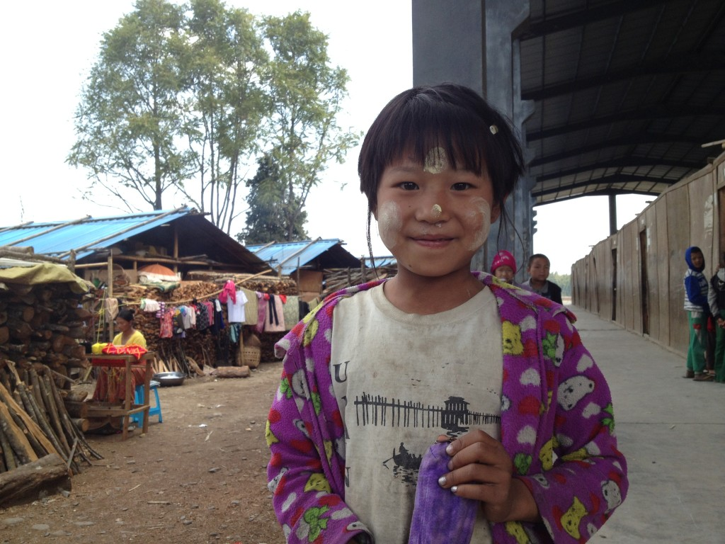 A child in the Mai Ja Yang camp.