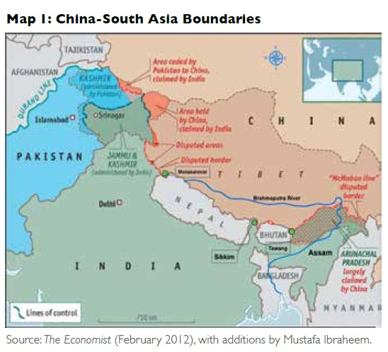 China-South Asia Boundary