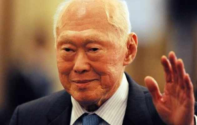 Former Prime Minister Lee Kuan Yew