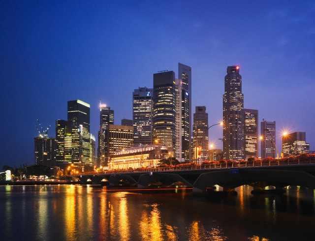 Singapore's Skyline    Image: Corbis