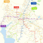 Planning Map of Kunming Subway System Image: Kunming Rail Transit Group