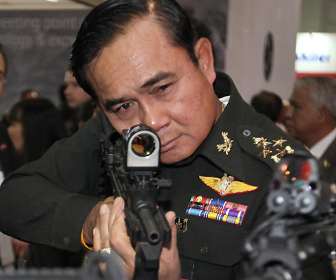 Gen. Prayuth: Taking aim at the haters