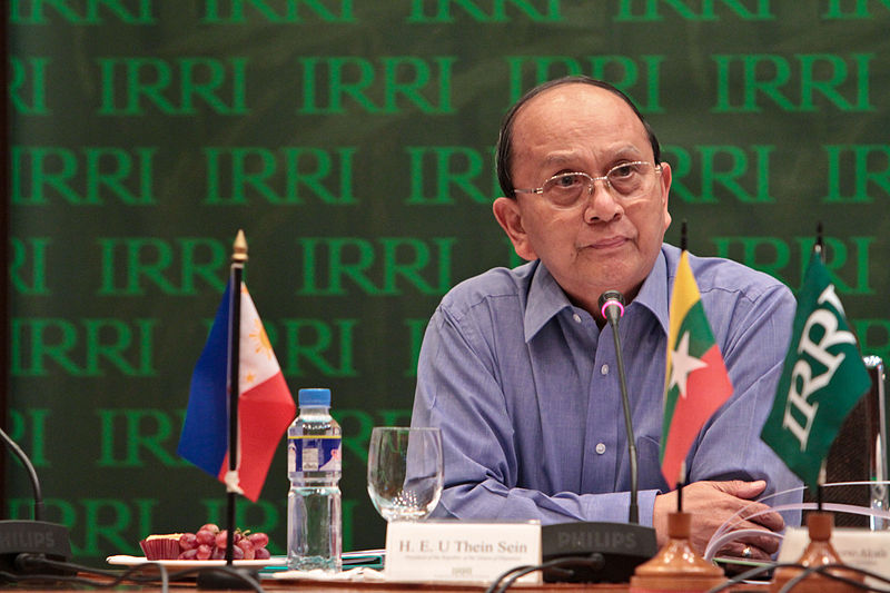 President of Myanmar Thein Sein. Photo: Wikemedia Commons