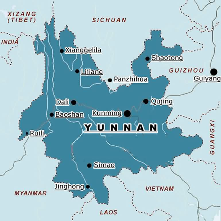Yunnan Province Profile - East by Southeast