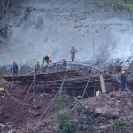 Work continues on the Darui Railroad in western Yunnan Image credit :cr8gc