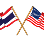 US Thai flag
