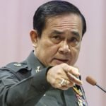 "Thailand's Prime Minister Prayuth Chan-ocha gestures as he speaks during an event titled ""The Instruction on the Procedures of Members of the National Reform Council"" at the Army Club in Bangkok September 4, 2014. Prayuth on Thursday set out broad criteria for the selection of a 250-member council to draw up sweeping political reforms and approve a new constitution, saying people from all walks of life would be included. REUTERS/Athit Perawongmetha (THAILAND - Tags: POLITICS MILITARY) - RTR44VJ8"