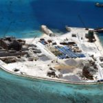 epa05165477 (FILE) A file handout picture dated 18 February 2015 and made available by the Armed Forces of the Philippines (AFP) Public Affairs Office shows an aerial view of construction at Mabini (Johnson) Reef by China, in the disputed Spratley Islands, in the south China Sea. China has deployed two batteries of sophisticated surface-to-air missile launchers to a disputed island in the South China Sea, news reports said on 17 February 2016. Satellite imagery from ImageSat International showed two batteries of eight missile launchers on Woody Island, part of the contested Paracel Islands, media reported. A US official confirmed that the imagery showed the HQ-9 air defense system, which has a range of around 200km, the report said. The report came as US President Barack Obama met with South-East Asian leaders in California, where they called for 'maritime security' and urged 'non-militarization and self-restraint' by countries in the region. Beijing claims nearly all of the South China Sea, including small islands that are hundreds of kilometres from its southern coast. Four countries in South-East Asia have unresolved territorial disputes with China over the South China Sea, which has important shipping lanes and potential oil and other natural resources.  EPA/ARMED FORCES OF THE PHILIPPINES  HANDOUT EDITORIAL USE ONLY/NO SALES